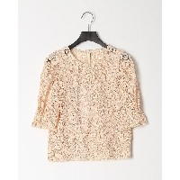 VIVIENNE TAM CHEMICAL LACE BL○10175110 ベージュ トップス