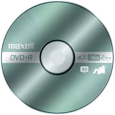 Maxell MAX639013 DVD Recordable メディア, DVD+R, 16x, 4.70 GB, 50 パック Spindle (海外取寄せ品)