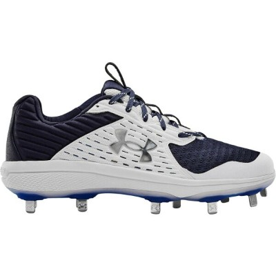アンダーアーマー Under Armour メンズ 野球 シューズ・靴【Yard MT】Midnight Navy/White/Midnight Navy