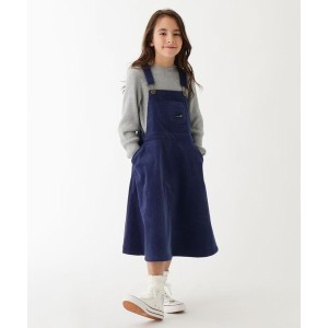 【3can4on(Kids)(サンカンシオン(キッズ))】 【100-150cm】コーデュロイサロペットスカート OUTLET > 3can4on(Kids) > ワンピース > ミドルワンピース...