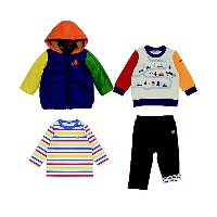 HOT BISCUITS MIKIHOUSE(Baby & Kids)/ホットビスケッツ ミキハウス  2007【福袋】ホットビスケッツ ミキハウス男児福袋 グリーン【三越伊勢丹/公式】...