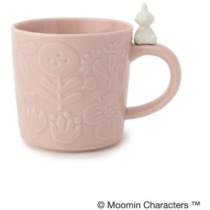 【one'sterrace(ワンズテラス)】 MOOMIN フィギュアマグカップ OUTLET > one'sterrace > キャラクター > ムーミン ライトピンク