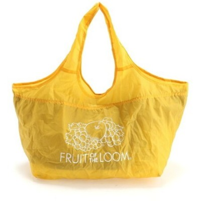 FRUIT OF THE LOOM FRUIT OF THE LOOM/(U)FTL PACKABLE MARKET BAG ハンドサイン バッグ エコバッグ/サブバッグ イエロー ブルー パープル...