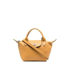 Longchamp Le Pilage Cuir ハンドバッグ XS - イエロー