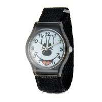 ディズニー 腕時計 キッズ 時計 子供用 ミッキー Disney Kids' W001208 Tween Mickey Mouse plastic, black nylon strap watch