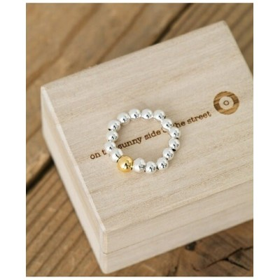 Sonny Label on the sunny side of the street 4mmBallbeads Ring サニーレーベル アクセサリー リング【送料無料】