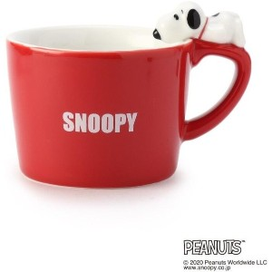 【one'sterrace(ワンズテラス)】 SNOOPY フィギュア付きマグ OUTLET > one'sterrace > キャラクター > スヌーピー レッド