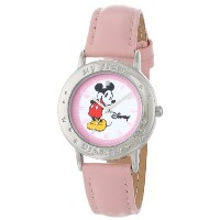"ディズニー 腕時計 キッズ 時計 子供用 ミッキー Disney Kids' 51078-B ""Mickey Mouse My First Diamond"" Diamond-Accented..."