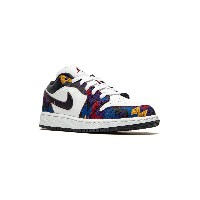 Nike Kids Air Jordan 1 Low GS スニーカー - ホワイト