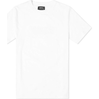 アーペーセー A.P.C. メンズ Tシャツ トップス【Positively Normal Tee】White
