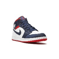 Nike Kids Air Jordan 1 Mid SE GS スニーカー - ホワイト
