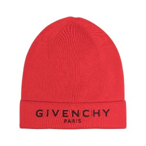 Givenchy ロゴ ビーニー - レッド