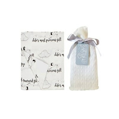 Precious Gift Unique Baby Gifts - Baby Swaddle Blanket in a Beautiful Gift Bag - Perfect Baby...