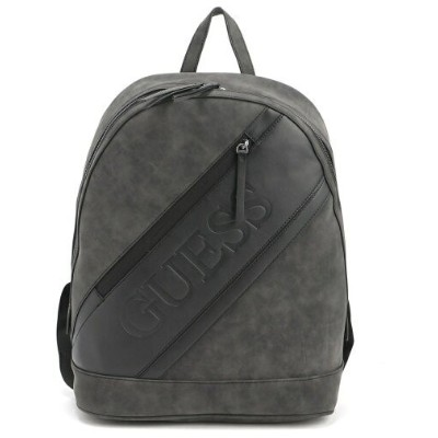 GUESS (U)Faux Suede Backpack ゲス バッグ リュック/バックパック ブラック【送料無料】