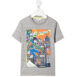 The Marc Jacobs Kids グラフィック Tシャツ - グレー