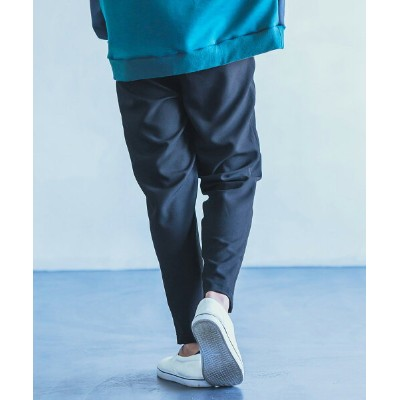 【ANGENEHM(アンゲネーム)】Wide Tapered Pants (MADE IN JAPAN) テーパードパンツ(ANG-010602)