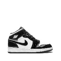 Jordan Kids Air Jordan 1 Mid SE GS sneakers - ブラック