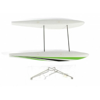Durafly Micro Tundra Classic Green Replacement Float Set with Water Rudder フロート 水上機