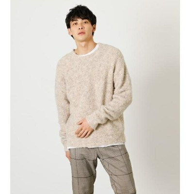 BOUCLE C/N KNIT PULLOVER/アズールバイマウジー