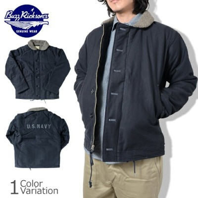 "Buzz Rickson's(バズリクソンズ) N-1 DECK JACKET ""NAVY DEPARTMENT"" デッキ ジャケット BR12030"