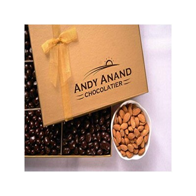 Andy Anand Sugar Free Milk Chocolate California Almonds, Delectable & Delicious,1 lb Gift Boxed &...