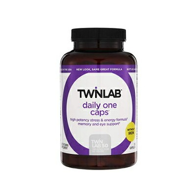 Twinlab Daily One Without Iron 180 Capsules