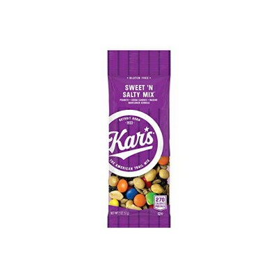 Kar's Nuts Sweet 'N Salty Trail Mixスナック-24-2オンスの個別シングルサーブバッグの8つのバルクボックス(192パック) Kar's Nuts Sweet 'N...
