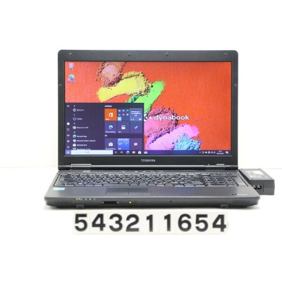 東芝 dynabook Satellite B552/G Core i3 3110M 2.4GHz/4GB/320GB/DVD/15.6W/FWXGA(1366x768)/Win10 キーボード不良...