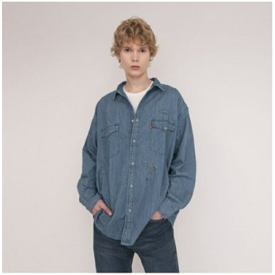 【SALE/50%OFF】Levi's OVERSIZE BARSTOW WESTERN RED CAST STONE リーバイス シャツ/ブラウス 長袖シャツ【送料無料】