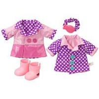Baby Alive ベビーアライブ 赤ちゃん 人形 フィギュア ドール Baby Alive Reversible Outfit - Spring Showers Raincoat - Large
