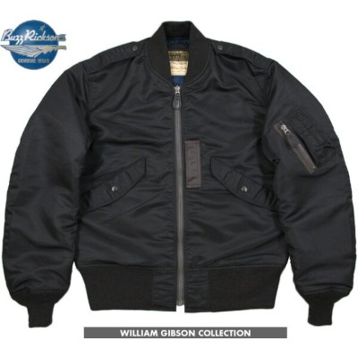 BUZZ RICKSON'S/バズリクソンズ JACKET, FLYING, LIGHT Type BLACK L-2B (REGULAR) William Gibson Collection NO...