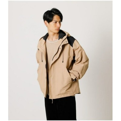 【SALE/50%OFF】AZUL by moussy SWITCHING MOUNTAIN PARKA アズールバイマウジー コート/ジャケット コート/ジャケットその他 ベージュ カーキ...
