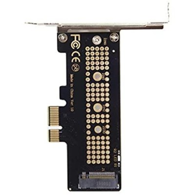 Cablecc ロープロファイル PCI-E 3.0 x4 レーンからM.2 NGFF M-Key SSD Nvme AHCI PCI Express アダプターカード PCI-E to NVME