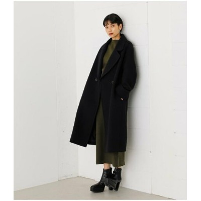 【SALE/50%OFF】AZUL by moussy OVERSIZE CHESTER COAT アズールバイマウジー コート/ジャケット コート/ジャケットその他 ブラック グリーン イエロー...