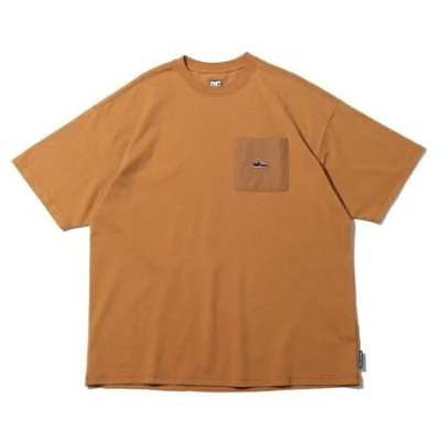 DC SHOES DC SHOES 21 20S WIDE PK LYNX EMB SS アトモスピンク カットソー Tシャツ ブラウン【送料無料】