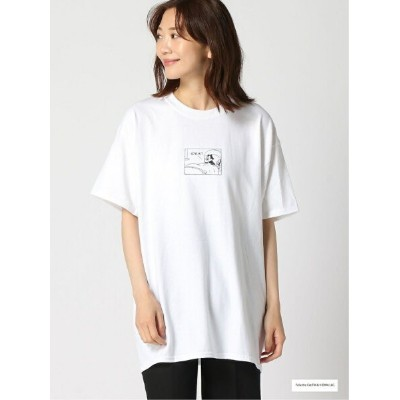 【SALE/42%OFF】apart by lowrys comic/L TEE アパートバイローリーズ カットソー Tシャツ ホワイト