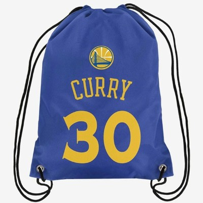 NBA プレイヤー ドローストリング バックパック ステフィン・カリー ウォリアーズ FOCO Stephen Curry Golden State Warriors Drawstring...