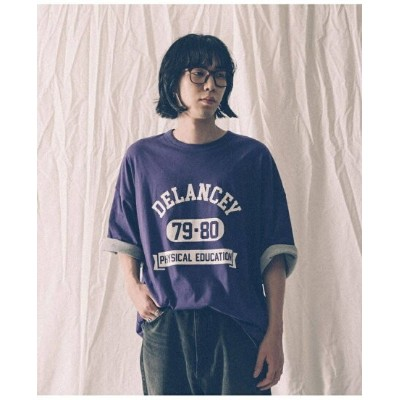 【SALE/40%OFF】URBAN RESEARCH 【別注】VOTE MAKE NEW CLOTHES*URiD BIG 2PLY TEE アーバンリサーチ カットソー Tシャツ パープル...