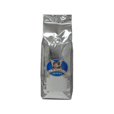 San Marco Coffee Decaffeinated Flavored Whole Bean Coffee, Snicker-Dandy, 1 Pound