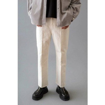 【SALE/40%OFF】BEAUTY & YOUTH UNITED ARROWS  monkey time  WHITE KATURAGI BACK SLIT TROUSER/バックスリットトラウザ...