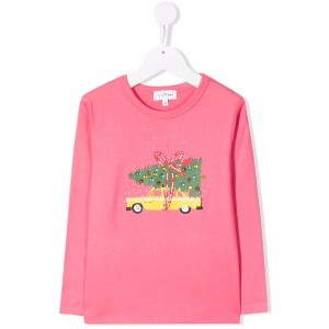 The Marc Jacobs Kids グラフィック Tシャツ - ピンク