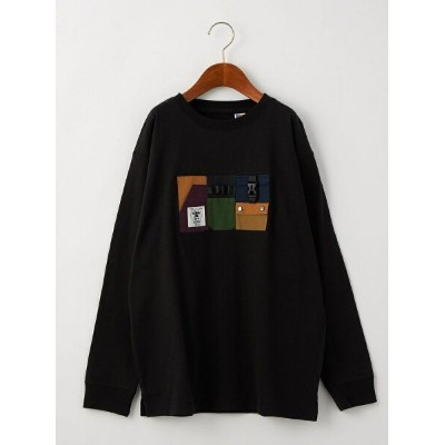 【SALE/30%OFF】UNITED ARROWS green label relaxing 【別注】EX grn outdoor  ポケットオーバーサイズロングスリーブ/ Tシャツ M...