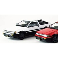 1/43 Toyota COROLLA LEVIN 1600GTV with alloy wheel WHITE/BLACK【45184】 EBBRO [EB 45184 カローラ レビン...