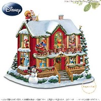 ディズニー クリスマス前日の夜 Disneys Night Before Christmas Illuminating Story House □