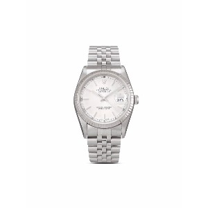 Rolex 2000 pre-owned Datejust 36mm - シルバートーン
