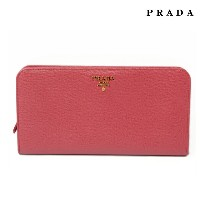 プラダ PRADA 長財布 1M1316 SAFFIANO MULTIC/カーフ PEONIA