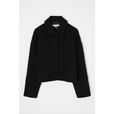 CORD EMBROIDERY ジャケット BLK