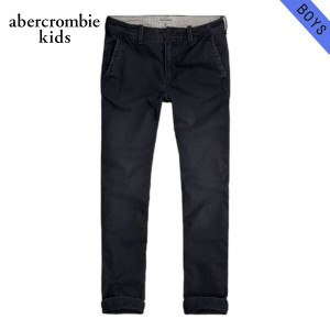 【15%OFFセール 5/25 10:00~5/30 23:59】 アバクロキッズ AbercrombieKids 正規品 子供服 ボーイズ チノパン a&f slim straight...