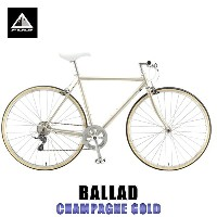フジ FUJI 正規販売店 自転車 BALLAD (CROSS BIKE) CHAMPAGNE GOLD