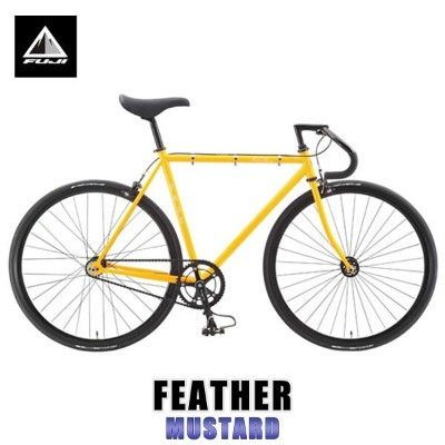 フジ FUJI 正規販売店 自転車 FEATHER (SINGLE SPEED) MUSTARD
